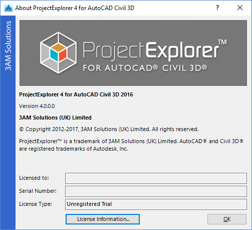 3AM Solutions | ProjectExplorer 4 Installation Guide | Floating