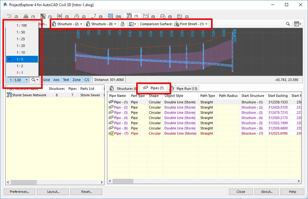 3AM Solutions | ProjectExplorer 4 Tutorials | Editing the Civil 3D model